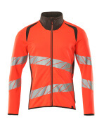 19184-781-22218 Sweatshirt - hi-vis Rot/Dunkelanthrazit
