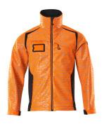 19202-291-14010 Soft Shell Jacke - hi-vis Orange/Schwarzblau