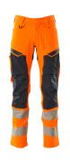 19479-711-14010 Arbeitshose - hi-vis Orange/Schwarzblau