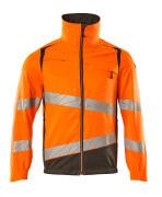 19509-236-1418 Jacke - hi-vis Orange/Dunkelanthrazit