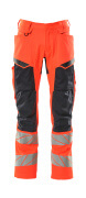19579-236-14010 Arbeitshose - hi-vis Orange/Schwarzblau