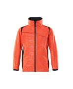 19902-291-22210 Soft Shell Jacke für Kinder - hi-vis Rot/Schwarzblau