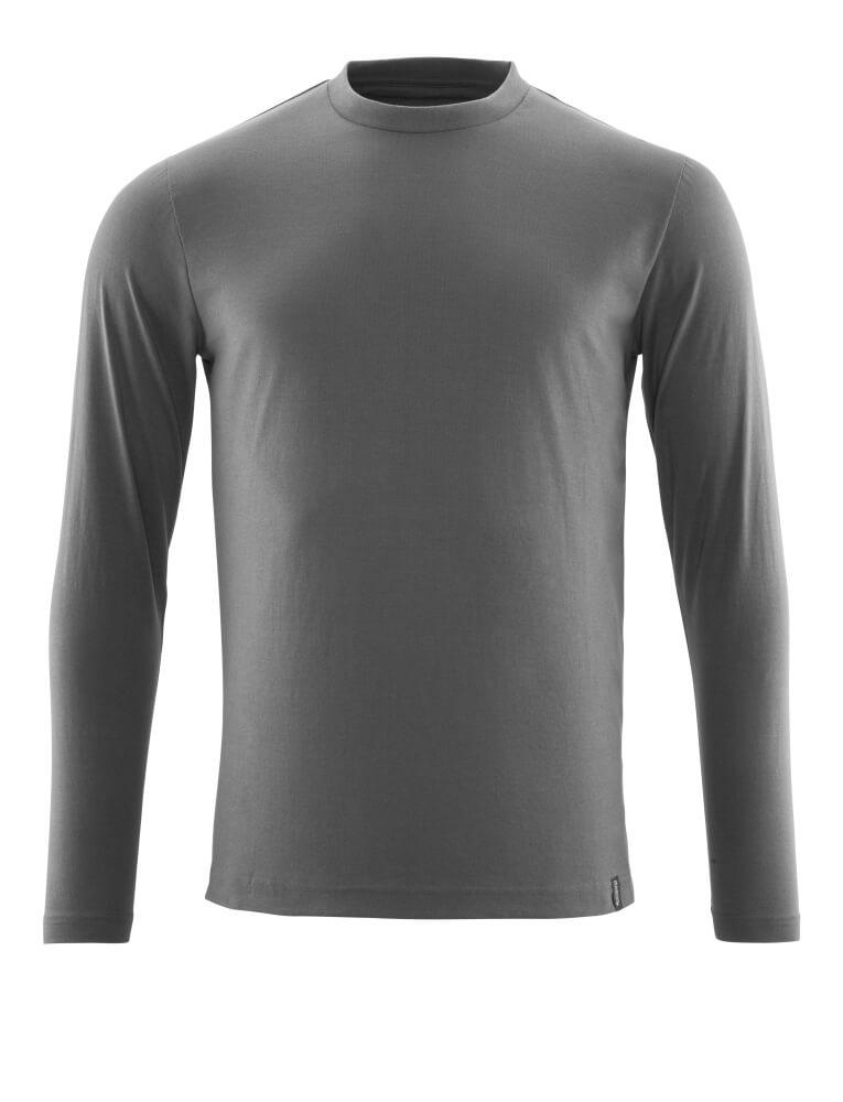 20181-959-18 Langarm T-Shirt - Dunkelanthrazit