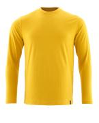 20181-959-70 Langarm T-Shirt - Currygelb
