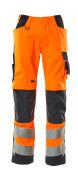 20879-236-14010 Arbeitshose - hi-vis Orange/Schwarzblau