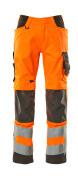 20879-236-1418 Arbeitshose - hi-vis Orange/Dunkelanthrazit