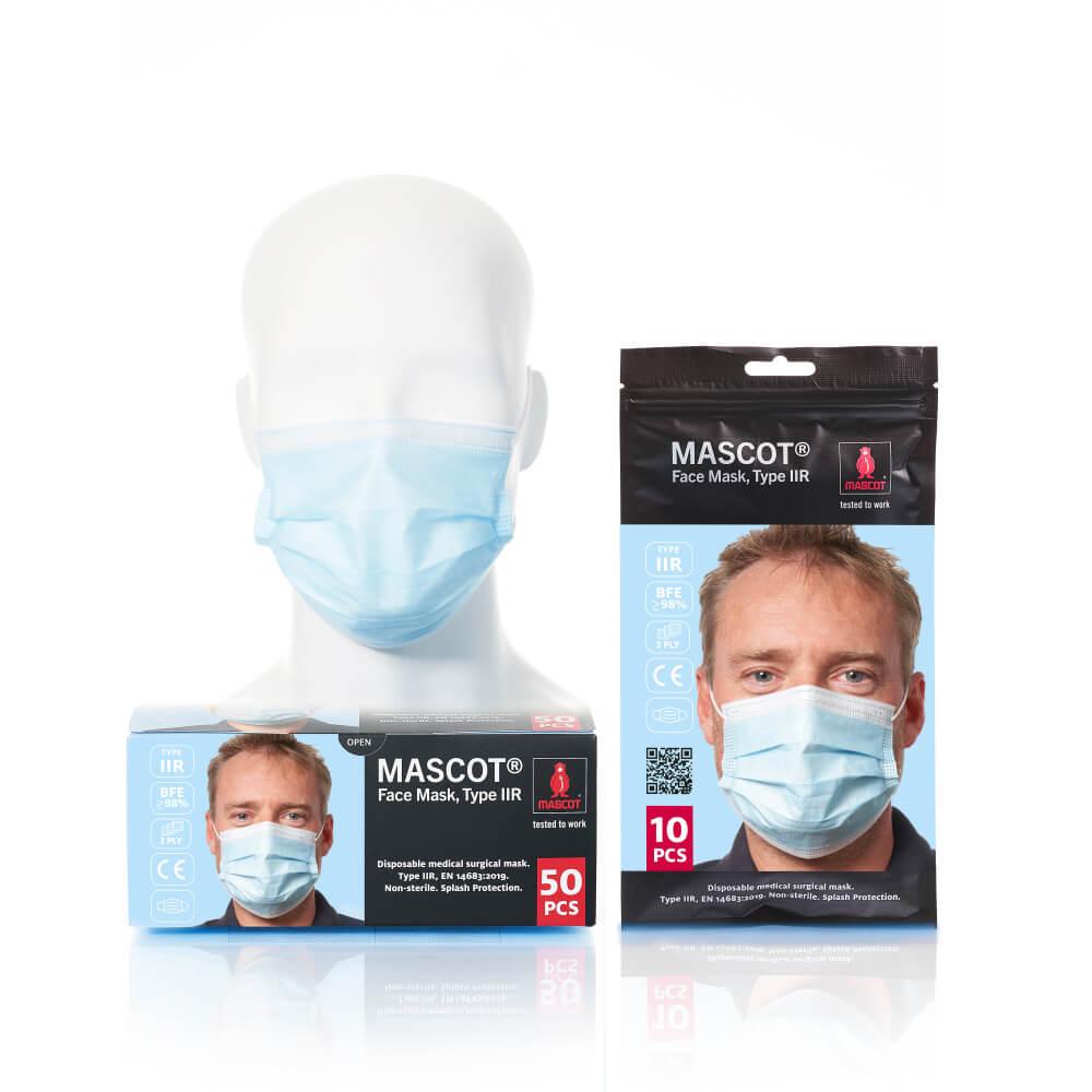 20950-921-71 Gesichtsmaske - Hellblau