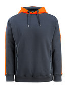 50124-932-01014 Kapuzenpullover - Schwarzblau/hi-vis Orange