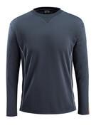 50128-933-0917 Langarm T-Shirt - Schwarz/hi-vis Gelb