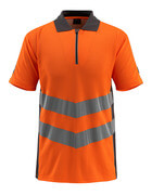 50130-933-1418 Polo-Shirt - hi-vis Orange/Dunkelanthrazit
