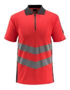 50130-933-14010 Polo-Shirt - hi-vis Orange/Schwarzblau