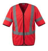 50216-310-222 Warnschutzweste - hi-vis Rot