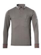 50352-833-118 Polo-Sweatshirt - Hellanthrazit