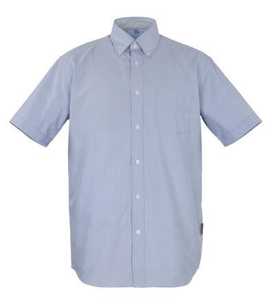 50377-887-B13 Hemd, Kurzarm - Oxford Blau