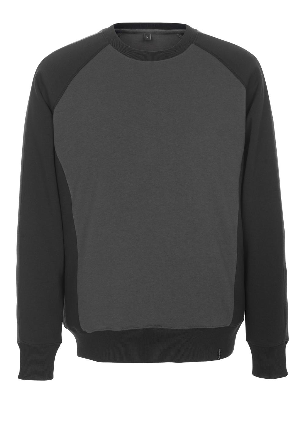 50503-830-1809 Sweatshirt - Dunkelanthrazit/Schwarz