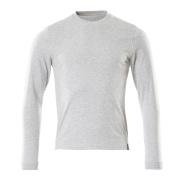 50548-250-08 Langarm T-Shirt - Grau-meliert