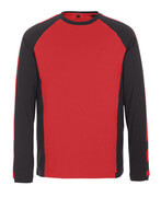 50568-959-1809 Langarm T-Shirt - Dunkelanthrazit/Schwarz