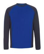 50568-959-11010 Langarm T-Shirt - Kornblau/Schwarzblau