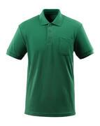 51586-968-03 Polo-Shirt mit Brusttasche - Grün