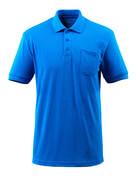 51586-968-91 Polo-Shirt mit Brusttasche - Azurblau