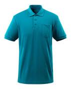 51586-968-93 Polo-Shirt mit Brusttasche - Petroleum