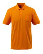 51586-968-98 Polo-Shirt mit Brusttasche - Hellorange